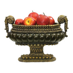 Sterling Industries - Sterling Industries Mediterranean Centerpiece Decorative Accessory X-0621-19 - Sterling Industries X-0621-19