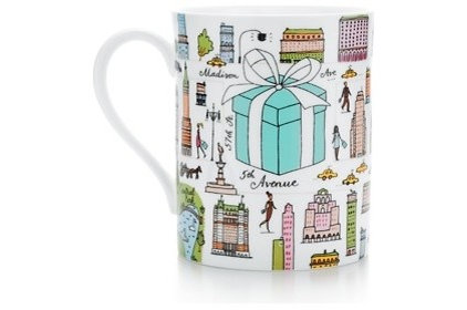 eclectic mugs by Tiffany & Co.