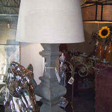 Eclectic Table Lamps by Lee Ann's High Design