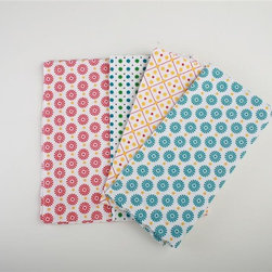 Tag Everyday - Betty's Kitchen Napkins - Set of 8 - 100% cotton. Two each of four printed designs. Machine wash cold separately / tumble dry low 20 in. x 20 in.