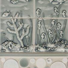 Tropical Tile by Pratt and Larson Ceramics