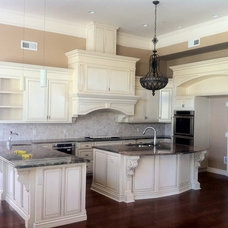 Mediterranean Kitchen Cabinetry by Marcel Sierra Kitchens