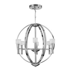 Fredrick Ramond - Six Light Chandelier - The name Fredrick Ramond is synonymous with quality in the lighting industry.