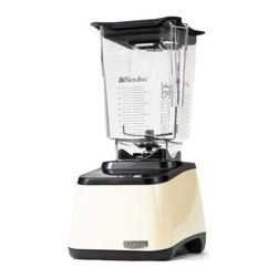 BlendTec Designer Series WildSide - We started making a list – juicer, meat grinder, latte machine, bread mixer, ice cream maker, grain mill, coffee grinder, milkshake mixer, and so on – we only have so much space here, and you have things to do. So we'll just say that the BlendTec Designer Series WildSide does a lot of things. And it does it with style, good looks and brute strength. Best of all, it isn't overbearing about all this – its slender design minimizes its presence in the kitchen without stealing the spotlight from your other appliances. They have feelings, too, you know.