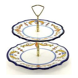 Artistica - Hand Made in Italy - Principe: Tid-Bit Plate - Artistica's Exclusive!
