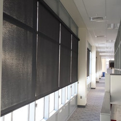 Industrial Window Treatments Find Curtains Shutters And
