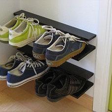 shoe storage - via Apartment Therapy