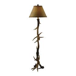 Crestview Collection - Crestview Collection CVANP950 Antler Floor Lamp - Crestview Collection CVANP950 Antler Floor Lamp