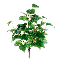 Silk Plants Direct - Silk Plants Direct Pothos Bush (Pack of 12) - Pack of 12. Silk Plants Direct specializes in manufacturing, design and supply of the most life-like, premium quality artificial plants, trees, flowers, arrangements, topiaries and containers for home, office and commercial use. Our Pothos Bush includes the following: