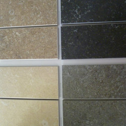 Porcelain Floor Tile -- Blue Natural -