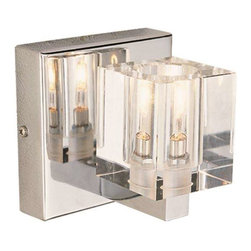 Trans Globe Lighting - Trans Globe Lighting 2841 PC Wall Sconce In Polished Chrome - Part Number: 2841 PC