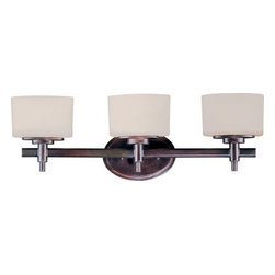 Maxim Lighting - Maxim Lighting 9023DWOI Lola 3-Light Bath Vanity In Oil Rubbed Bronze - Features