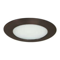 """Nora Lighting - Nora NTS-22 6"""" Albalite Lens with Specular Reflector and Trim, Nts-23bz - 6"""" Albalite Lens with Specular Reflector and Trim"""