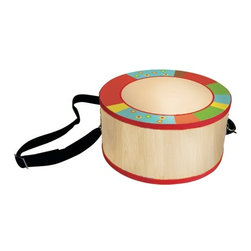 Sassafras - Tom Tom Drum, Bright Stripe - Budding musicians can hone their musical skills early with these kid-sized musical instruments. Each instrument is sure to not only help develop a sense of musical timing, but is great fun as well!