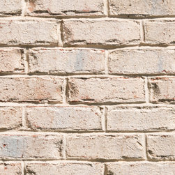 Triangle Brick's Oyster Bay - Offered exclusively under Triangle Brick Company's Select product tier, our Oyster Bay brick's vintage-inspired, white-washed appearance gives a surprisingly modern feel to your building project. The pearl-colored surface of this tumbled brick, along with subtle blue-gray accents, finish off the look for an eye-catching, old-world appeal.