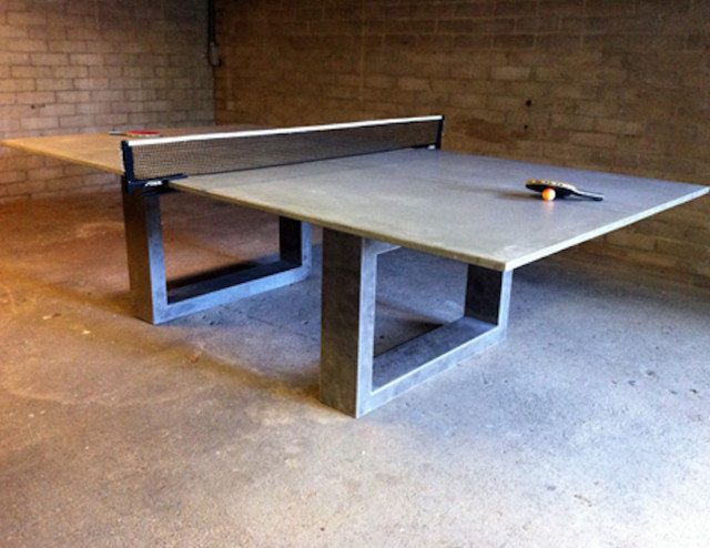 Modern Game Tables by dwconcrete.com