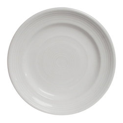 Tuxton - Concentrix 12 inch Round Plate Black - Case of 6 - There are seven vibrant colors available. Give your tabletop a splash of color and pizazz.