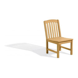 Oxford Garden - Chadwick Sidechair - Beautifully designed for long lasting comfortable seating, this 4' bench matches the 5' Classic bench and Classic Chairs.