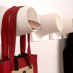Materious Cubby coat hook and storage - .