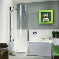 Twinline Tub Shower Combo | Apartment Therapy