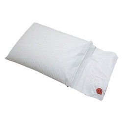 "Hudson Indsustries - Science of Sleep Therapeutic Water Pillow - 23"" x 19 - A gentle slope and larger surface area allows for a comfortable night's sleep. Helps prevent acid reflux, upper respiratory distress, snoring, sinus irritation, heartburn and sleep apnea."