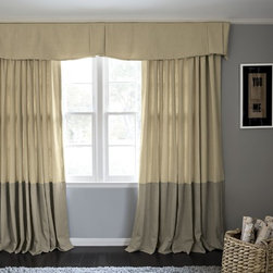 Smith and Noble X Pleat Drapery - Panels and drapery add dimension to any window. That's why drapes and curtains are the treatments of choice for showcase settings like living rooms, formal dining rooms or an intimate master bedroom. Starting at $158+