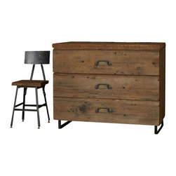 Urban Wood Goods - UrbanRustic Dresser - The daily log. This dresser is crafted of century-old salvaged wood and accurately records all the activities of human life during its use. Turning the page to a new era, it's now is ready to log in all your accumulations neatly behind spacious drawers.