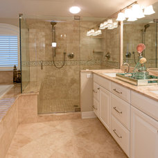 beach style bathroom by CANDICE ADLER DESIGN LLC