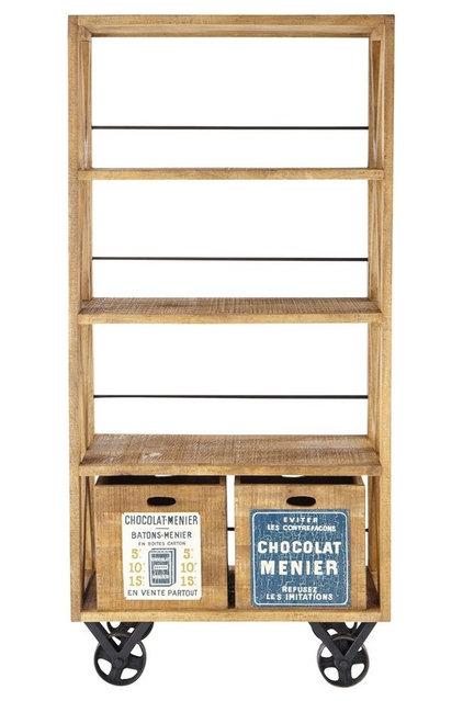 Eclectic Bookcases by Maisons du Monde