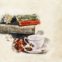 Create your style - There is nothing like a good book and a good cup of tea.