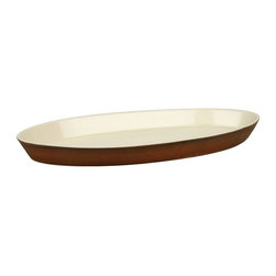 Waechtersbach - Waechtersbach Pure Nature Moon Oval Platter - 4147915130 - Shop for Plates and Dishes from Hayneedle.com! No matter what you're serving it's bound to look perfect on the Waechtersbach Pure Nature Moon Oval Platter. This high-quality stoneware platter is dishwasher-safe but not recommended for microwave or oven use. Hand-glazed in a natural beige tone with craquelure effect each piece is slightly different for a unique appeal. The unglazed surface reveals a wood-like structure in the color and grain for a truly rustic look.Set includes15.75 inch platterAbout Waechtersbach USAIf you're looking for big bold color at the dinner table you've found it with the distinctive designs of Waechtersbach USA the US division of the renowned German company. Since 1832 Waechtersbach has been crafting colorful ceramic products that celebrate the beauty of color from everyday dinnerware to more formal serving ware. Waechtersbach has been in business for over 175 years and they always keep an eye on contemporary environmental needs with their dedicated manufacturing processes that utilize optimal machinery and expend less carbon dioxide.