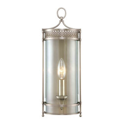 Hudson Valley 8991-AN Amelia Antique Nickel Wall Sconce - Hudson Valley 8991-AN Amelia Antique Nickel Wall Sconce - Wattage: 60 W. - # of Bulbs: 1. - Socket Type: Candlelabra. - Installation Required: Yes. - Weight: 5lbs.