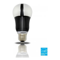 Lightkiwi - Lightkiwi P6631 A19 Warm White Dimmable LED Light Bulb - 60 Watt Equivalent - The Lightkiwi™ A19 LED light bulb provides a warm white equivalent to 60 watt incandescent light bulb and lasts up to 25,000 hours while using at least 80% less energy.  This bulb is ideal for kitchens, living rooms, bedrooms, hallways, or any other places where you need standard household light bulb.  UL Approved , EnergyStar CertifiedApplicationsResidential / Shipping Mall / Healthcare / Hospitality / Restaurants25,000 Hours LifetimeNo need to replace the light bulb frequently and more cost savingsUses Only 9.5 Watts of ElectricityOver 80% savings in electricity usage compared with a 60 watt incandescent light bulb800 lumens of brightnessProvides same amount of brightness as a 60 Watt incandescent bulbInstant On without FlickeringLights up instantly at full brightness without any flickeringDimmable BulbControl the brightness to a desired level using LED dimmer switch (not included)Mercury-Free designUses no Mercury unlike CFL light bulbsLimited 5-Year Warranty