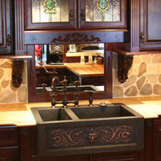 Traditional Kitchen Sinks by Copper Kitchen Specialists