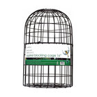 PineBush - Squirrel Blocking Cage 16 inch - Powder coated steel frame. Snaps together in seconds. Can also be used in conjunction with a seed catching tray. Supplied with a securing screw for use with ChapelWood's premium feeders. Ideal for keeping squirrels off most standard feeders. Can be used w