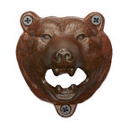 Bear Wall-Mount Bottle Opener - I love to subtly turn my home into a winter cabin by using small rustic touches like this one. A bear bottle opener is perfect for your holiday get-togethers.