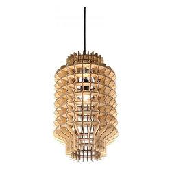 ParrotUncle - Plywood Lantern Modern Designer Hanging Pendant Lights - Plywood Lantern Modern Designer Hanging Pendant Lights