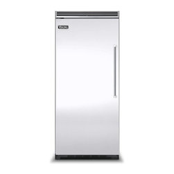 """Viking 36"""" Built-in All-refrigerator, White Left Hinge 