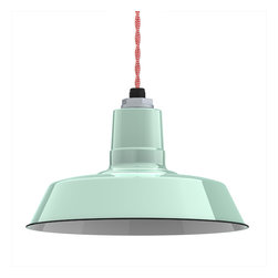 Barn Light Electric Co. - Ivanhoe™ Sky Chief Warehouse Porcelain Pendant -
