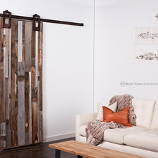 Contemporary Living Room by Rustica Hardware