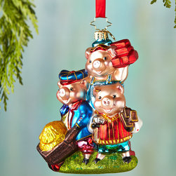 """Christopher Radko - Piggly Constructors Christmas Ornament - Christopher RadkoPiggly Constructors Christmas OrnamentDetailsMade of glass.Hand painted.4.5""""T.Made in Poland.Designer About Christopher RadkoFor more than 20 years Christopher Radko has been designing and producing handmade ornaments gifts and home decor for every special occasion and season that the calendar brings. His creations have become collectors' items favored gifts and keepsakes among those who give and receive them in celebration of life's milestones and memorable occasions."""