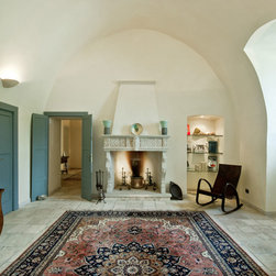 Stone Floors Antique 'Biblical Limestone' Reclaimed Tiles & Pavers - Image provided by 'Ancient Surfaces'