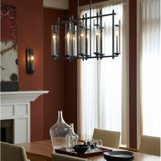 Contemporary Chandeliers by Feiss - Monte Carlo
