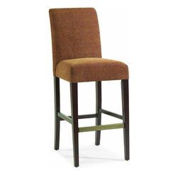Hooker Furniture - Hooker Furniture Stellene Counter Stool Cheetz Copper Set of 2 - This beautiful Stellene Counter Stool Cheetz Copper will be a great addition to you bar collection. Features: Material: Wood & Fabric. Style: Transitional. Finish: Cheezt Copper Fabric.