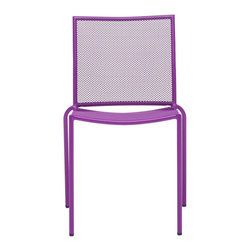 Zuo Modern - Zuo Modern Repulse Bay Outdoor Dining Chair (Pack of 4) X-150307 - Funky and fun, the Repulse chair will add flare to any space. Frame is made from 100% epoxy coated steel durable in any climate.
