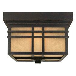 Quoizel Lighting - Quoizel HC1612IB Hillcrest Imperial Bronze Outdoor Flush Mount - 2, 60W A19 Medium
