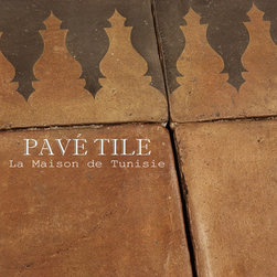 La Maison de Tunisie Terra Cotta Tile Collection ™ - Inspired from 14th century Tunisian designs, this terra cotta tile collection is durable and beautiful. Using hand made European terra cotta tile, we kiln fire our decoratives - and an installation of this floor in a commercial or residential setting will last a lifetime. We have been developing this collection for nearly a year - inspired by the years François lived in Tunis while his father was a French Professor in University. He remembers studying amongst other children speaking Arabic and using a quill and ink to write his essays. The years he lived there, François will never forget. This collection takes him back to the villa where he played under the hot sun, the kitchen bustling with Arabic song and intense spice scents perfuming the air.