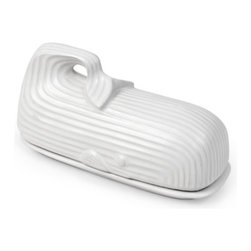 Whale Butter Dish - This cheeky butter dish by Jonathan Adler makes me smile.
