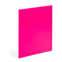 Haiphong Stationery Jsc - Paper Pocket Folder, Smoothie, Pack of 6 - Two-pocket folder is just the spot for your bright ideas.Ships in: 1-2 business days