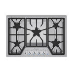 "Thermador Masterpiece Series 30"" Gas Cooktop, Stainless Steel 